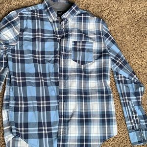 Men's LG American Eagle long sleeve button up